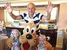 Ivo Valenta se o sv�m volebn�m v�t�zstv� dozv�d�l v Disneylandu u Pa��e, kde oslavoval narozeniny jedn� z mal�ch dcer.