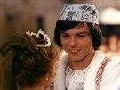 Libu�e �afr�nkov� a Pavel Tr�vn��ek ve filmu T�i o��ky pro Popelku (1973)