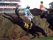 TAXIS, Nejobávanější ze skoků na Velké pardubické tentokrát zastavil tři koně.