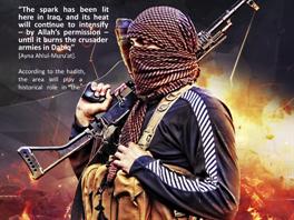Stránka z časopisu Islámského státu Dabiq