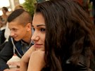 Hvězdy z Bronxu. Druhé pololetí loňského roku natáčel tým Kamily Zlatuškové v 8.A na brněnské škole na náměstí 28. října. Sami aktéři se na první díl cyklu podívali s denním předstihem.