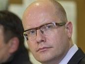 Premiér Bohuslav Sobotka zavítal do Vrb�tic na Zlínsku, kde v �íjnu vybuchly...