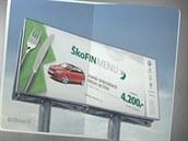Nemáte chuť na nové auto? Kampaň pro společnost ŠkoFIN vyhrála v kategorii Finanční služby soutěže Effie 2014.