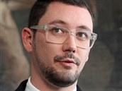 Jiří Ovčáček, mluvčí prezidenta Miloše Zemana (4. 11. 2014)