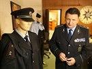Policejní prezident Tomáš Tuhý při představování návrhu nové policejní uniformy.