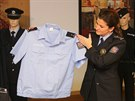 Návrh nové policejní uniformy.