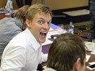 Tom� Verner, mistr Evropy v krasobruslen�, se stal jednou z tv��� pilotn� skupiny projektu Du�ln� kari�ra.