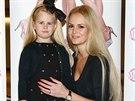 Česká Miss 2007 Lucie Hadašová a její dcera Denisa