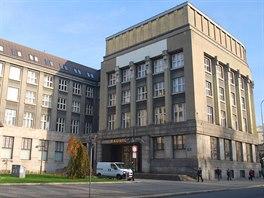 Radnice úřadu Moravské Ostravy a Přívozu sídlí v bývalé budově spořitelny.