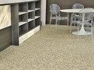 Litá dlažba neboli kamenný koberec vytvoří krásný povrch