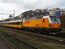 Nová lokomotiva Vectron se příští rok zřejmě objeví i na trasách v Česku.