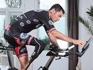 Handicapovaný cyklista Jiří Ježek se po vážném zranění zase připravuje.