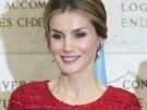 Španělská královna Letizia (Řím, 20. listopadu 2014)