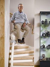D�l� v�m probl�m vyj�t schody? �e�en�m jsou schodi��ov� seda�ky!