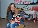 Eva Michaláková se svým synem. Naposledy jej i svého druhého syna viděla v březnu 2014 na dvě hodiny. Podle rodiny setkání norské úřady připustily po roce a půl.