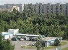 Polyfunkční centrum City garden vznikne na Moravském Předměstí v Hradci Králové za současnou čerpací stanicí na místě nedávno zbourané solitérní vily.