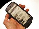 Premi�ra YotaPhone 2 v Lond�n�