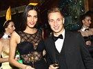 Miss ČR 2009 Aneta Vignerová a Michal Zeman