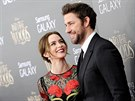 Emily Bluntov� a John Krasinski (New York, 8. prosince 2014)