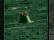 Orion je na Zemi, respektive ve vodě při loňském testu