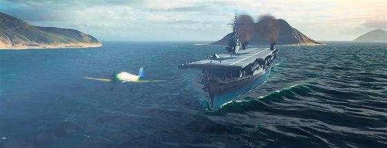 První herní záběry z World of Warships