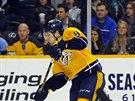 Švédský hokejista Filip Forsberg z Nashvillu v NHL září.