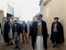 V oblasti Zaré žijí hlavně Uzbekové (Afghánistán, 26. listopadu 2014).