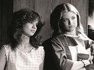 Katarína Šugárová a Eva Vejmělková ve filmu Fontána pro Zuzanu (1985)