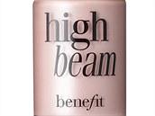 Tekutý rozjasňovač High Beam s růžovo-perleťovém odstínu, Benefit, prodává Sephora, info o ceně v obchodech
