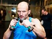 Po boxu Dalibora Gondíka čekal ještě kruhový trénink.