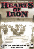 Obal hry Hearts of Iron