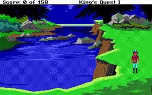 King's Quest EGA podle Sierry