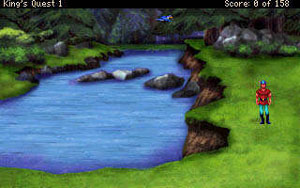 King's Quest VGA podle Tierry