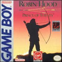 Robin Hood: Prince of Thieves - GameBoy obal