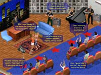 The Sims Online - screenshoty