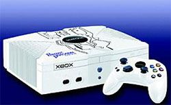 Xbox with Panzer Dragoon Orta