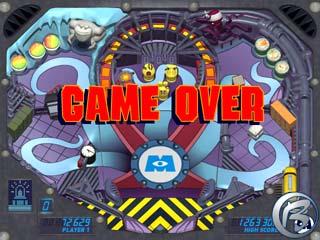 Monsters Inc. Pinball Panic - konec hry. A je to.