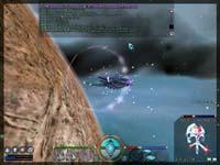 Filmový záběr, scéna: únik z planety