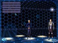 Výběr postav v úvodním menu