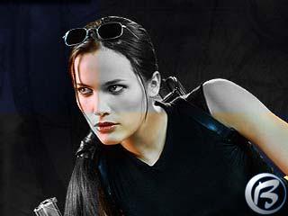 Jill de Jong, nová modelka pro Laru Croftovou