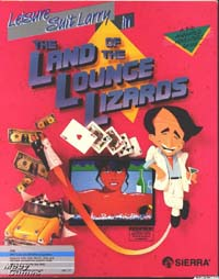 Krabice Leisure Suit Larry 1