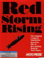 Krabice hry Red Storm Rising
