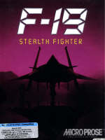 Krabice hry F-19 Stealth Fighter