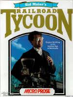 Krabice hry Railroad Tycoon