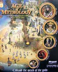Age of Mythology - reklamní stránka