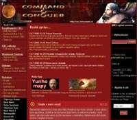 Obrázek z nové české Command & Conquer fansite