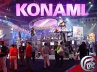 Stánek konzolového Konami