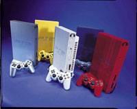Barevné verze PS2