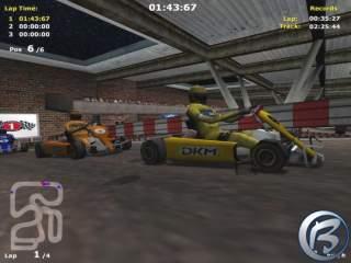 Michael Schumacher Racing World Kart 2002