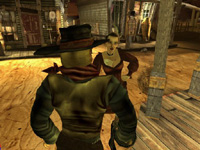 Deadlands - screenshoty